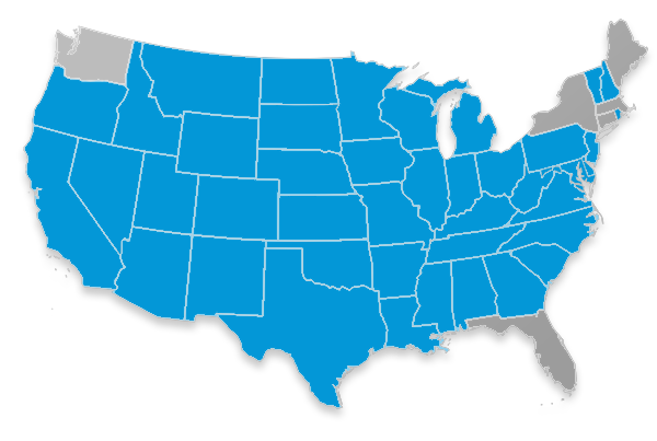 Aetna Medicare Supplement Map