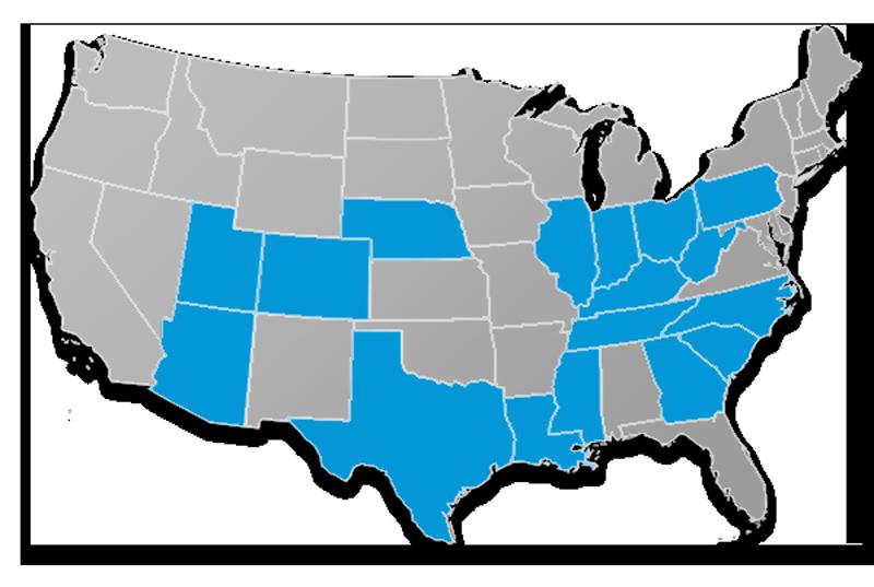CSI Life Medicare Supplement Map