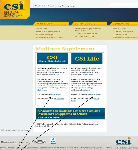 CSI Life Online Agent E-app User Guide