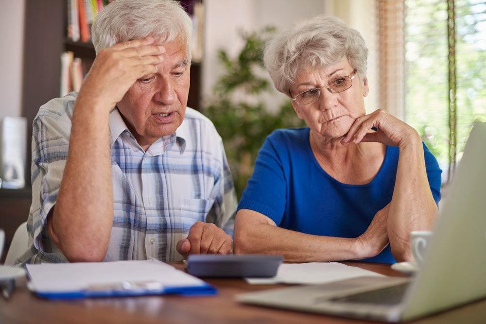 Confused seniors